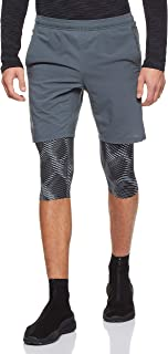 Under Armour Men's M Launch SW Long 2-in-1 Printed Bottoms