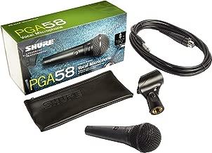 Shure PGA58-QTR-E Microphone Black