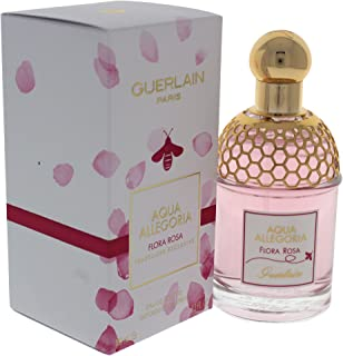 Guerlain Aqua Allegoria Flora Rosa Eau de Toilette Spray for Women, 3.3 Ounce