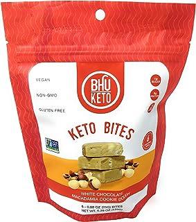 BHU Foods, Cookies Keto White Chocolate Chip Macadamia Nut, 5.3 Ounce