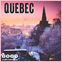 By 2021 Wall calendars 2021: Quebec 2021 Wall Calendar 18 Months