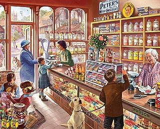 White Mountain Puzzles Cozy Candy Shop 1155 Puzzle 300Teile, Candy Shop, 5.51 cm x 31.11 cm x 26.03 cm, Mehrfarbig