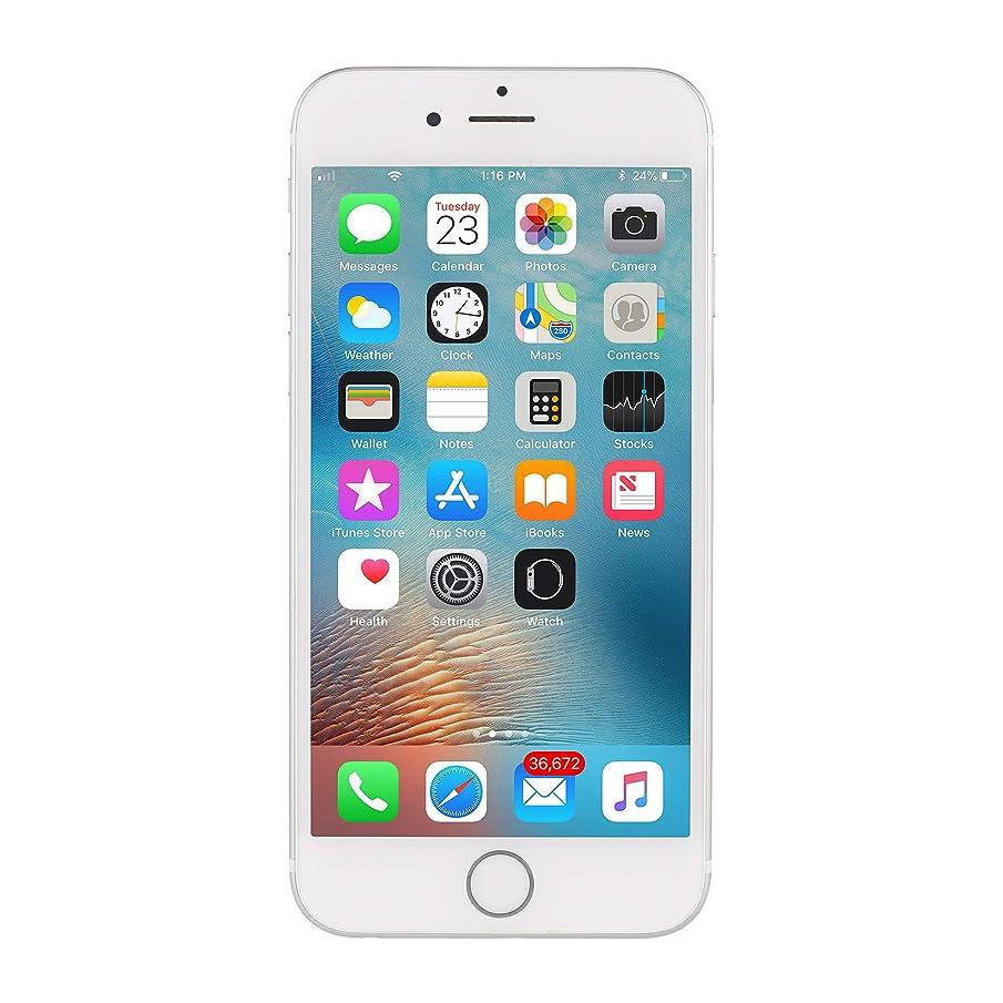 Apple iPhone 6S, Fully Unlocked, 64GB - Silver (Renewed)
