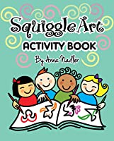 Squiggle Art Activity Book for Kids