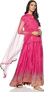 Rangriti Women's Rayon Straight Salwar Suit Set