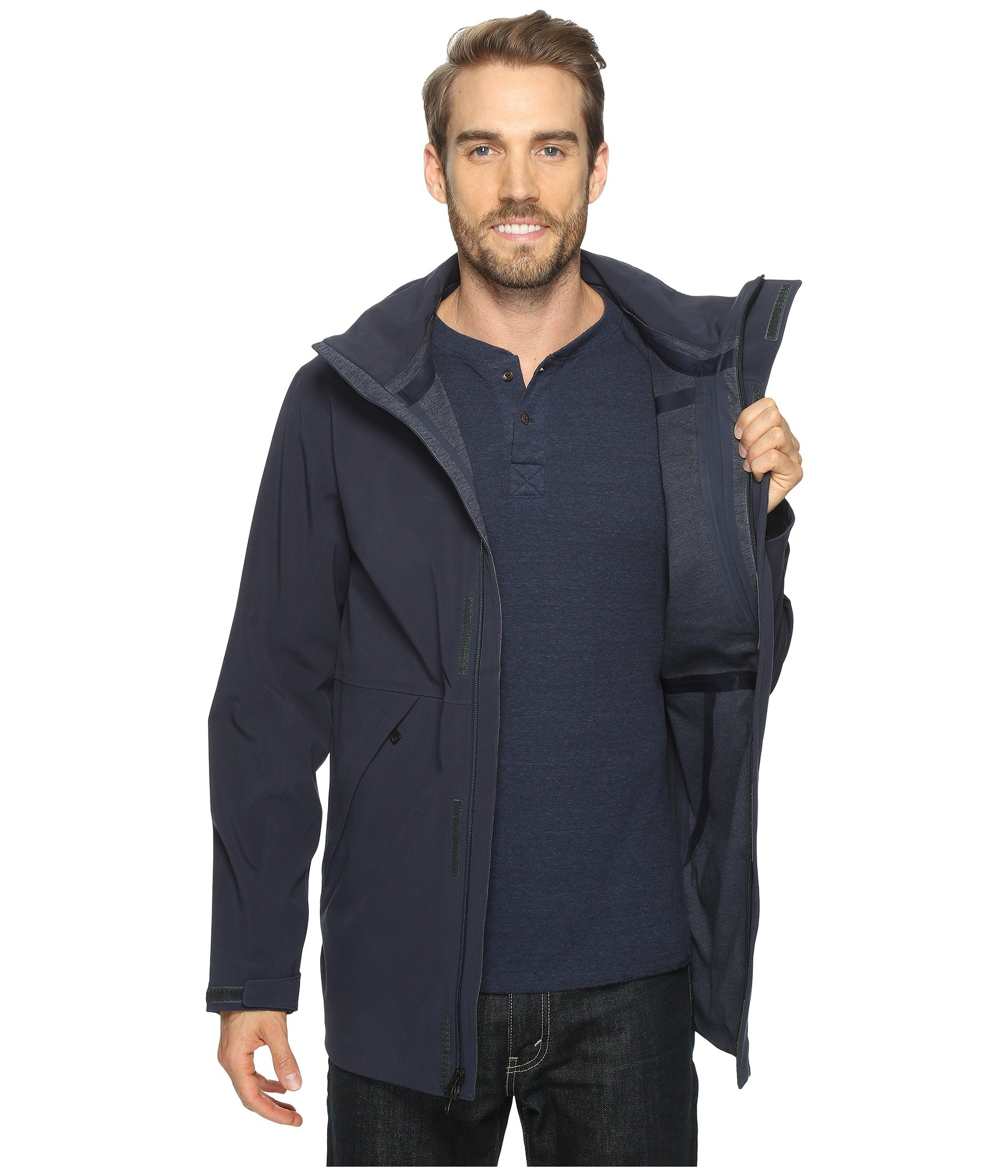 the north face apex flex gore tex disruptor parka at. Black Bedroom Furniture Sets. Home Design Ideas