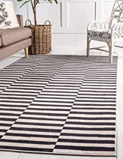 Best blue and white striped rug 8x10 Reviews