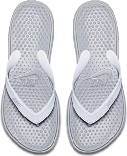 d99ce3ab2 Nike WMNS Solay Thong Womens 882699-003 Size 11 Grey White