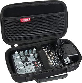 Hermitshell Hard Travel Case for Behringer Xenyx 502 Premium 5-Input 2-Bus Mixer