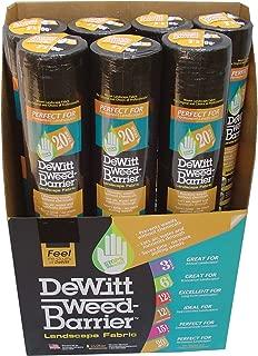 Dewitt 20YR350 3-by-50-Feet 4-Ounce 20-Year Weed Barrier Fabric
