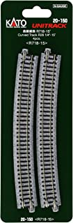 Kato USA Model Train Products Unitrack, 718mm (28 1/4