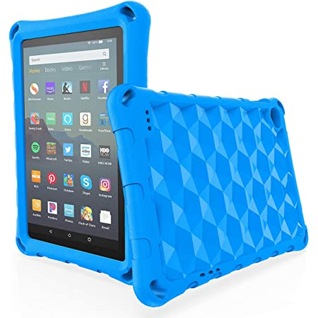 Amazon Com All New Fire 7 2019 Case Fire 7 Tablet Case Riaour Kids Shock Proof Protective Cover Case For Amazon Fire 7 Tablets Compatible With 5th Generation 2015 7th Generation 2017 9th Generation 2019 Rose Electronics