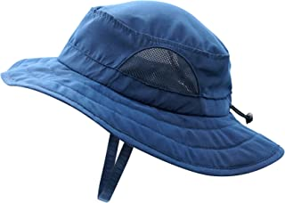 Kids UPF 50+ Bucket Sun Hat UV Sun Protection Hats Summer...