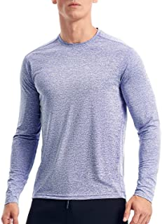 Dry Fit Athletic Shirts for Men Long Sleeve Workout Shirt