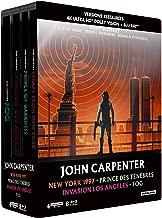 John Carpenter - Coffret : New York 1997 + Prince des ténèbres + Invasion Los Angeles + Fog [4K Ultra HD + Blu-ray + Blu-ray bonus - Édition boîtier SteelBook]