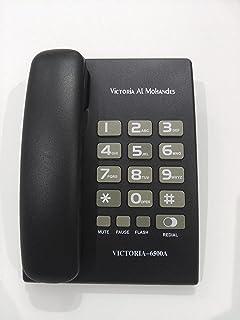فيكتوريا المهندس هاتف سلكي - 6500ِA