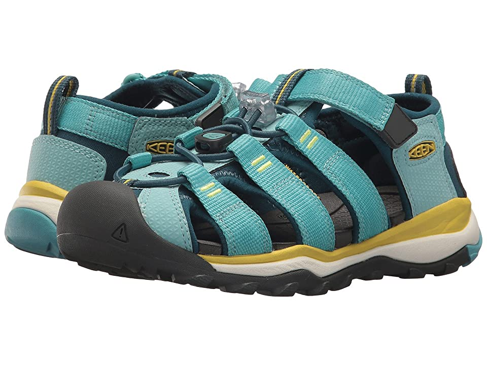 Keen Kids Newport Neo H2 (Little Kid/Big Kid) (Aqua Sea/Legion Blue) Girl
