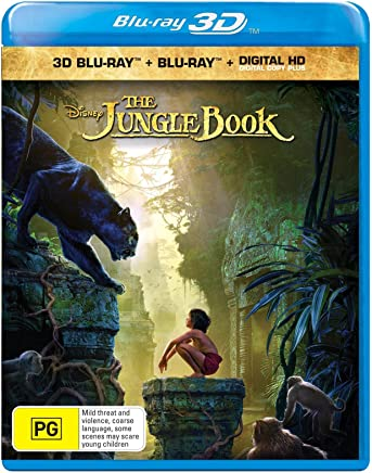 The Jungle Book [Live-Action] (3D Blu-ray/Digital Copy) Blu-ray