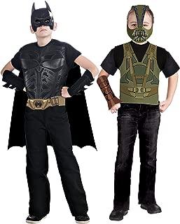 Batman: The Dark Knight Rises: Batman Vs Bane Action Duo Dress Up Set (Black)
