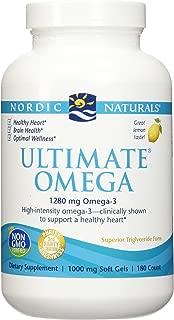 Nordic Natural Ultimate Omega 360 count - (2 pack of 180 per bottle)
