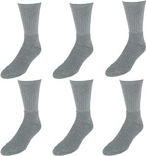 Everlast Men's 6PK Crew Socks