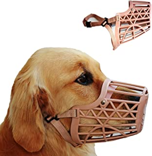 Western Era Adjustable Muzzle, Mouth Cover for Dog/Puppy (Beige) (Extra Small)