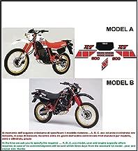 INDICARE IL MODELLO A o B Kit adesivi decal stikers SUZUKI DR 500 S