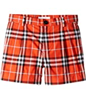 Burberry Kids - Beckett Check Shorts (Little Kids/Big Kids)