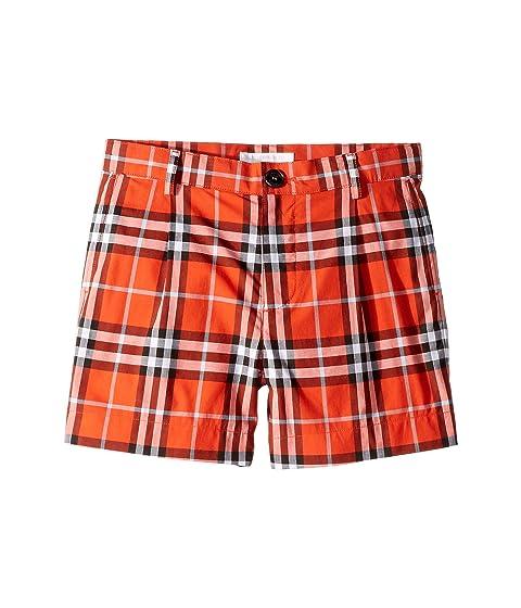 Burberry Kids Beckett Check Shorts (Little Kids/Big Kids)