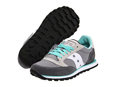 Saucony Originals Jazz Low Pro (Grey/White) Women
