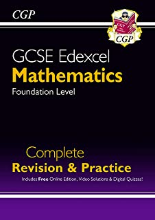 GCSE Maths Edexcel Complete Revision & Practice: Foundation - Grade 9-1 Course (with Online Edn)