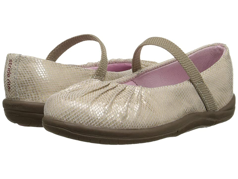 Stride Rite SRT Cassie (Toddler) (Champagne) Girls Shoes