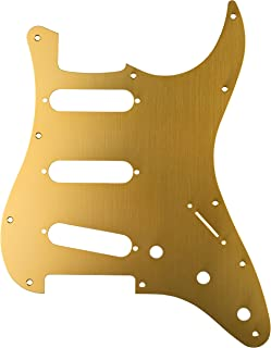 Fender ピックガード Classic 60s Stratocaster 11-Hole 1-Ply Gold Anodized (Made in Japan Model)