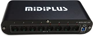 midiplus 8 in 8 out USB 3.0 MIDI interface (8x8