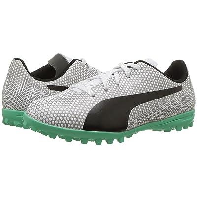 Puma Kids Spirit TT (Little Kid/Big Kid) (Puma White/Puma Black/Puma Silver) Kids Shoes