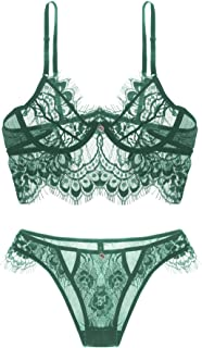 55d503c8c70 Greens Exotic Lingerie Set | Amazon.com