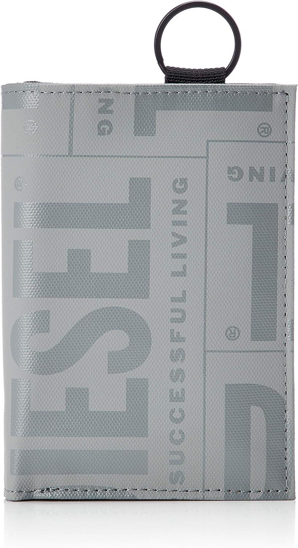 Diesel Men's BOLDWALLET Yoshi II Wallet, Storm Front