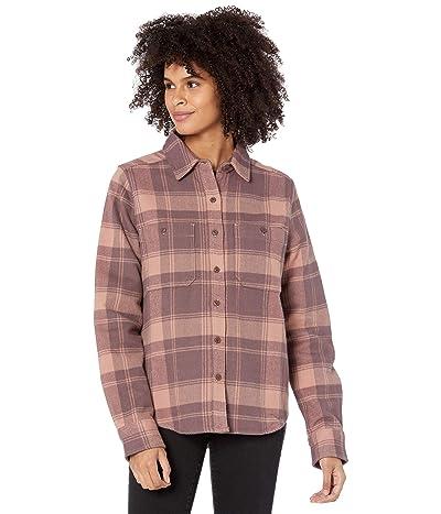 Mountain Hardwear Plushertm Long Sleeve Shirt (Smoky Quartz) Women