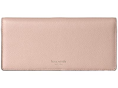 Kate Spade New York Margaux Bifold Continental Wallet (Pale Vellum) Checkbook Wallet