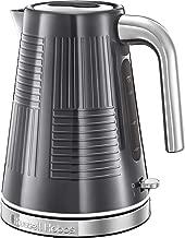 1.2 liters Inox Russell Hobbs 25860-70 K65 Jubil/äums Wasserkocher 2400 Grau//Edelstahl