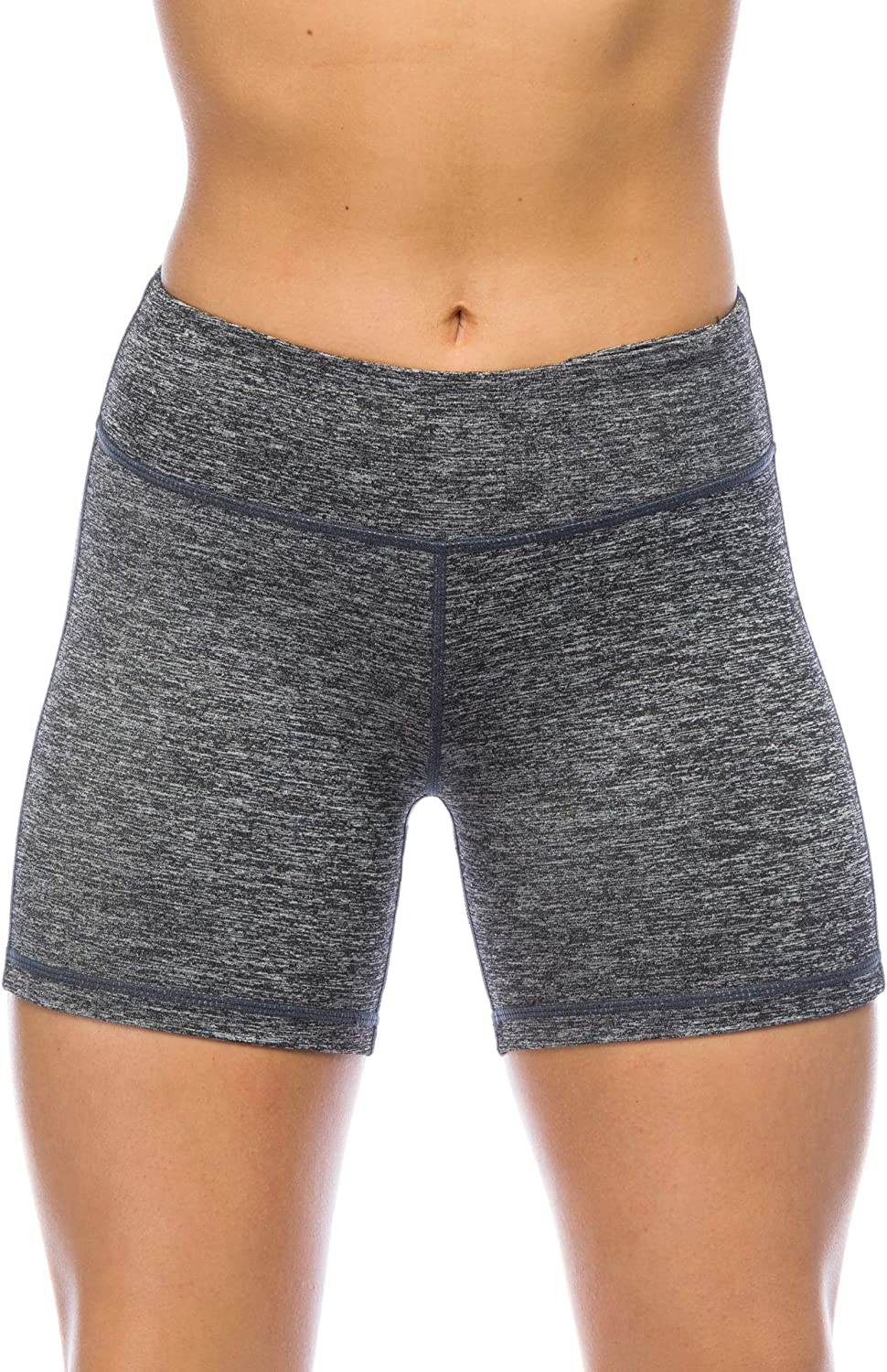 I AM BECOMING 5  Inseam Woman's Compression Booty Shorts Yoga, Running, Volleyball Crossfit Athletes
