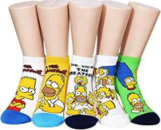 The Simpsons Women and teen girls Licensed Socks Collection Socksense