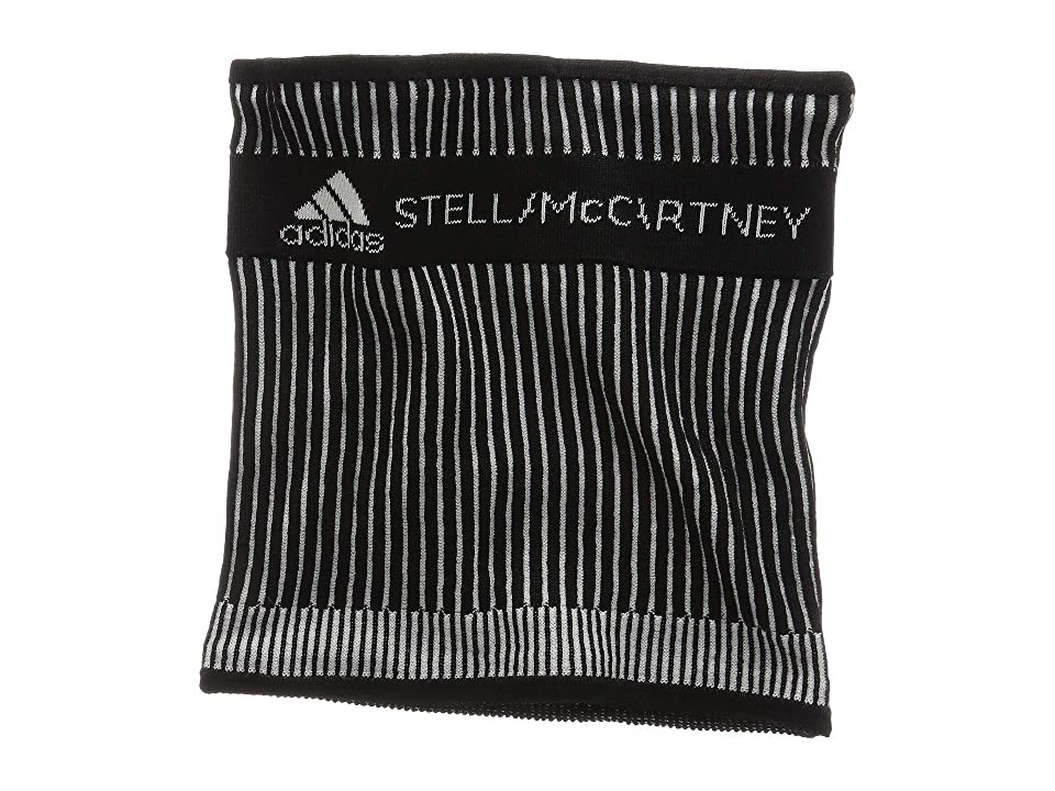 Image of adidas by Stella McCartney Neckwarmer (Black/White/White) Scarves