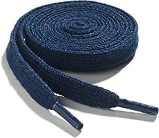 Narrow Flat Athletic Shoelaces - High Durability 2 Pair Pack