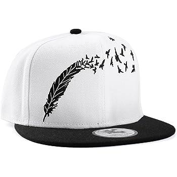 Aivtalk - Hip Hop Negro Sombrero Gorra de Béisbol con Bordado de ...
