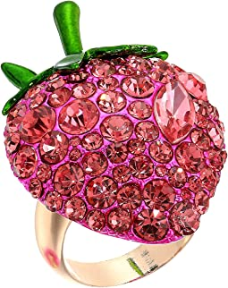 Bright Pink Strawberry Ring