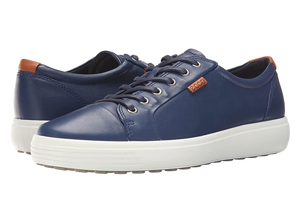 ECCO Soft 7 Sneaker (True Navy) Men