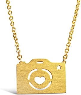 Best gold camera necklace Reviews