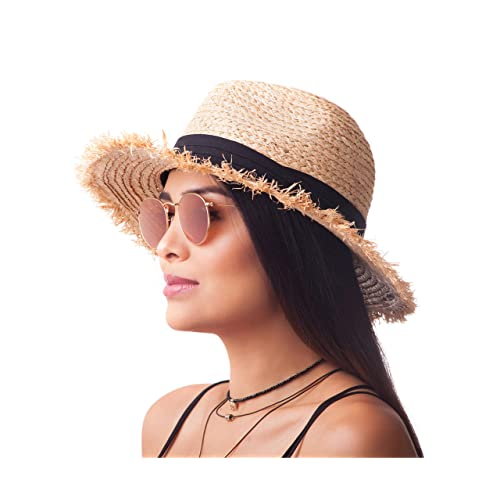 e9807890a Raffia Straw Hats: Amazon.com