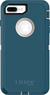 OtterBox DEFENDER SERIES Case for iPhone 8 Plus & iPhone 7 Plus (ONLY) - Retail Packaging - BIG SUR (PALE BEIGE/CORSAIR)